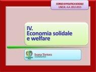 4_Economia solidale e welfare.pdf - Facolta' di Scienze Politiche