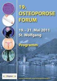 Programm - Österreichische Gesellschaft für Unfallchirurgie