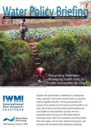 Irrigation with polluted water or wastewater is a widespread reality ...