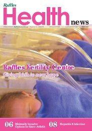 Giving Birth to new hope - Raffles Medical Group