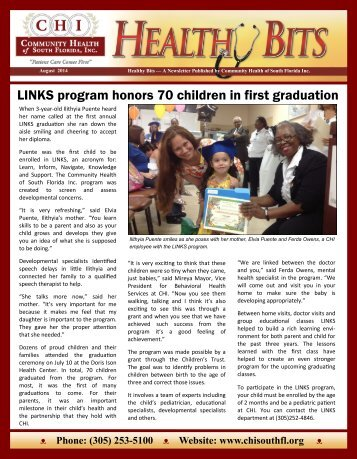 CHI Newsletter August 2014