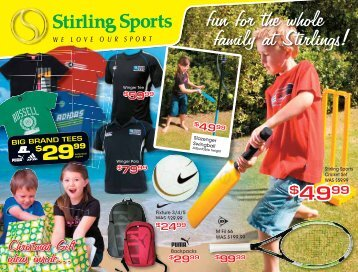 fun for the whole family at Stirlings! - Stirling Sports Whangarei