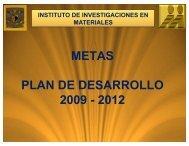 Investigaciones en Materiales - Dirección General de Planeación ...