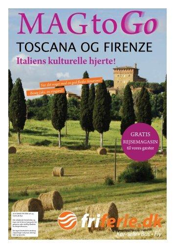 toscana og firenze - Dansk Fri Ferie