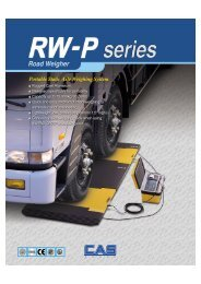 Portable Static Axle Weighing System - Able Scale