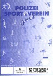 Ausgabe Februar 2006 - Polizeisportverein Karlsruhe e.V.