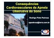 consequências cardiovasculares da apneia obstrutiva do ... - OPEC