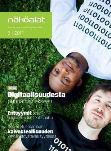 Tekesin Näköalat 3/2011 lehdessä julkaistu artikkeli ...