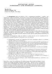 TELEANGECTASIE e MATTING - Terapia compressiva