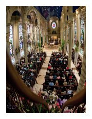 May 5-6, 2012 - Cathedral of the Immaculate Conception