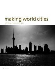 making world cities - Center for International Studies
