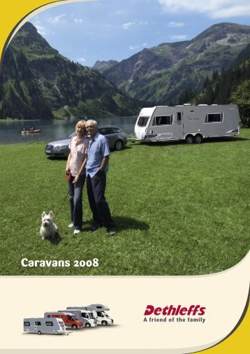 Caravan Catalogue 2008 GB (5.5 MB) - Dethleffs