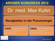Neuigkeiten in der Pneumologie