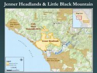 Jenner Headlands & Little Black Mountain - Sonoma Land Trust
