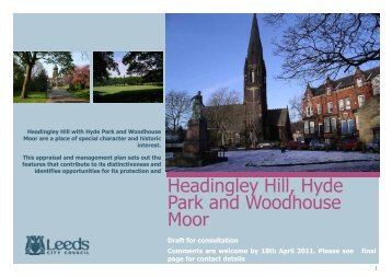 Headingley Hill, Hyde Park and Woodhouse Moor