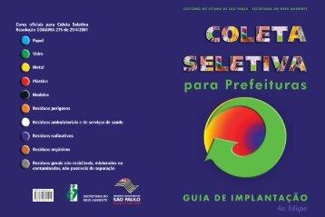 coleta seletiva: guia de implantação da prefeitura