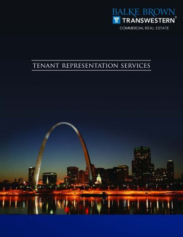View Tenant Representation Brochure - Balke Brown and Associates