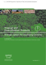 Tropical and Diversification Products - ictsd