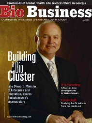 Lyle Stewart, Minister of Enterprise and Innovation ... - Bio Business