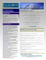 June 2012 e-Bulletin(.pdf) - Pacific Rim Advisory Council (PRAC)