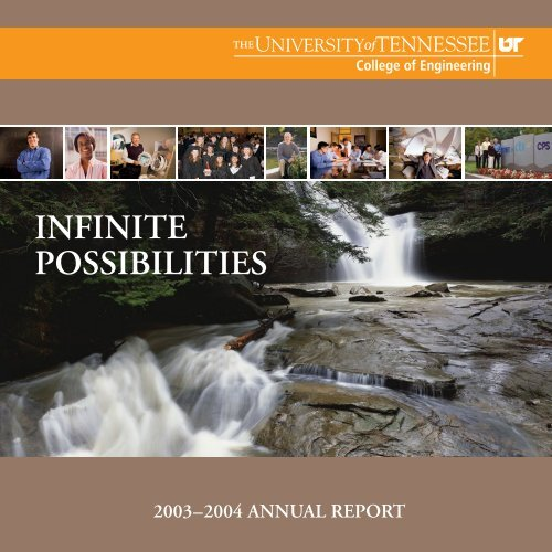 UT College of Engineering Annual Report 2003-2004