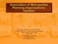 Updates - New York State Association of Metropolitan Planning ...