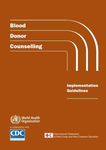 Blooddonorcounselling