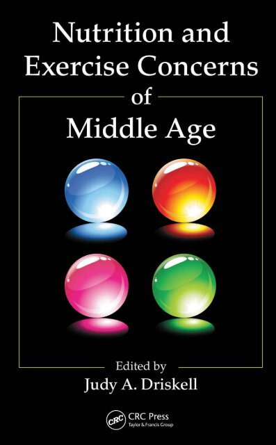 Nutrition and Exercise Concerns of Middle Age