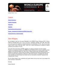 Newsletter No.2 - WONCA Europe 2012