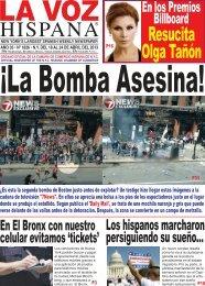 Los hispanos marcharon persiguiendo su sueño... - La Voz Hispana ...