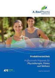 Produktverzeichnis Professionelle Präparate für Physiotherapie ...