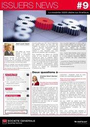 ISSUERS NEWS - Société Générale Securities Services