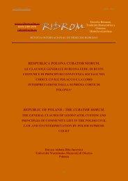the curator morum. - revista internacional de derecho romano-index