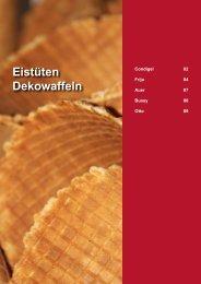 Eistüten Dekowaffeln - Gusto AG