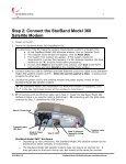 StarBand Model 360TM Satellite Modem Installation Manual - Page 7
