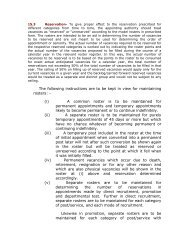 The following instructions are to be kept in view for ... - Rajya Sabha
