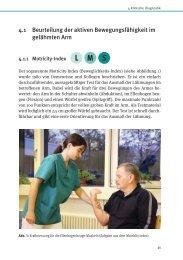 4.1 Beurteilung der aktiven Bewegungsfähigkeit im gelähmten Arm