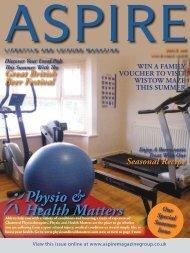 Physio & Health Matters - Aspire Magazine