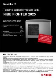 Fighter 2025 Informace o produktu - nibe-technik.cz