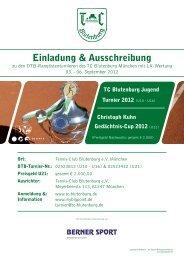 Einladung & Ausschreibung - TC Blutenburg