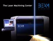 BEAM Dynamics brochure - E-engraving.com
