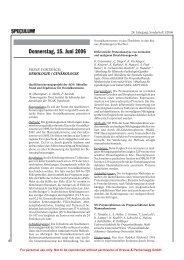 Sonderheft Spekula Abstracts 2006 - Dr. Harald Lass - Die Frau im ...