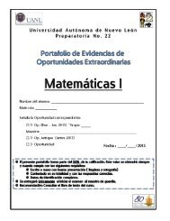 Portafolio Matemáticas 1 - Preparatoria 22