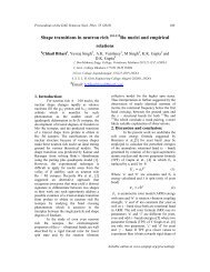 Shape transitions in neutron rich Ru nuclei and empirical relations