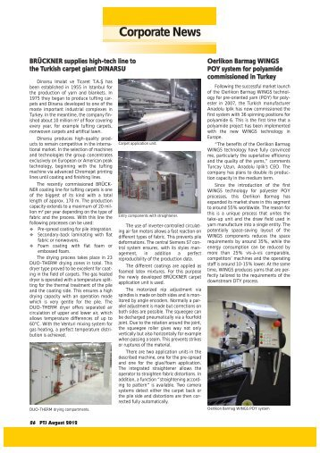 Corporate News - Pakistan Textile Journal