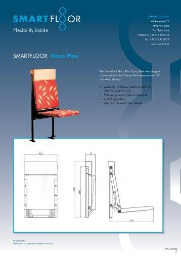 Flexibility inside SMARTFLOOR Noco Plus