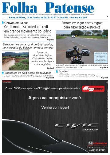 Folha Patense 14/01/2012(nº 977