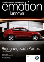 BMW Niederlassung Hannover - publishing-group.de