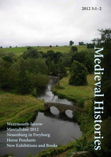 Medieval Histories 5: 1-2 - Medieval History