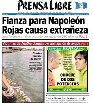 CHOQUE DE DOS POTENCIAS - Prensa Libre